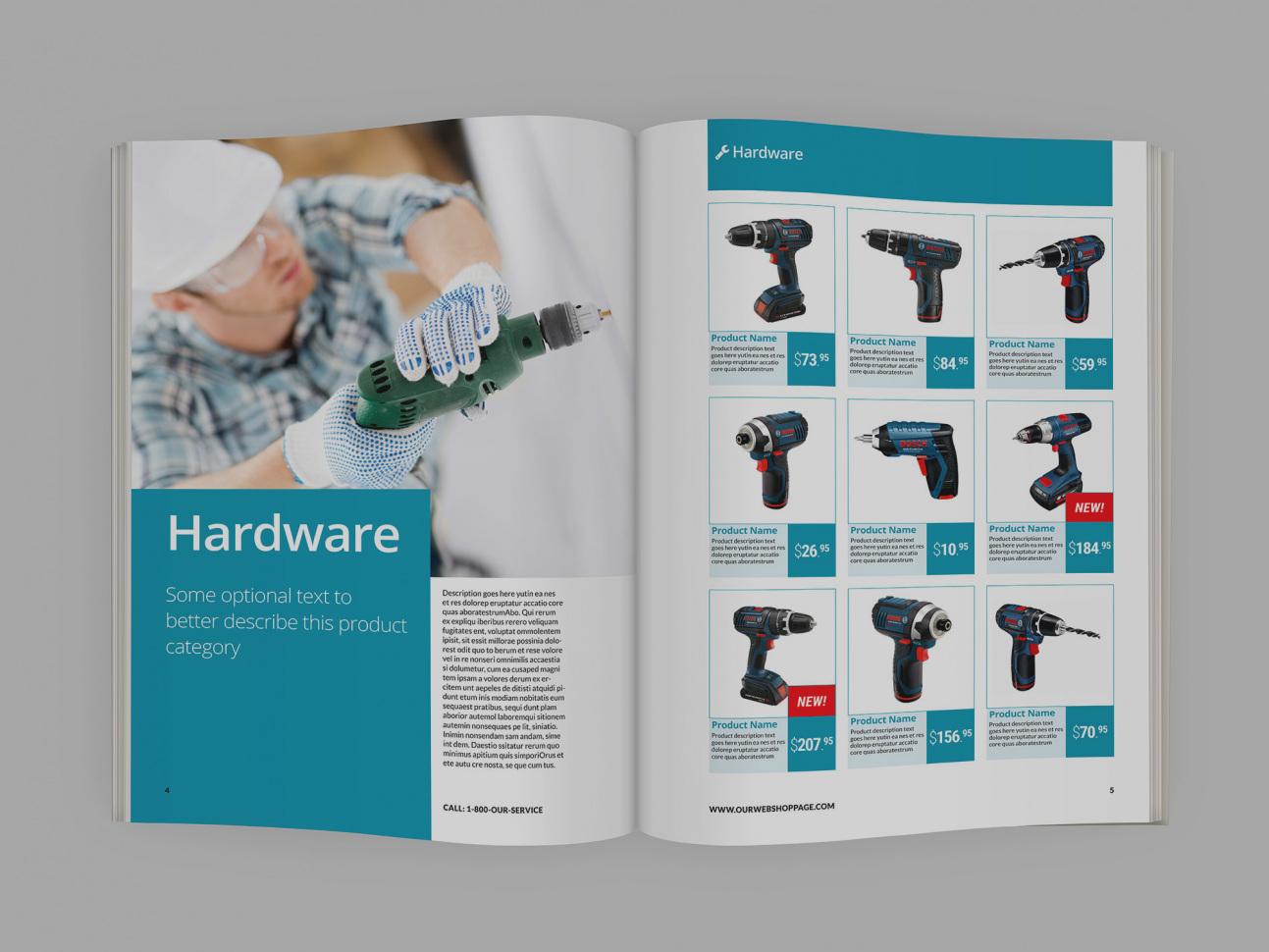 Thiết kế catalog đẹp
